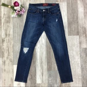 Lucky Brand Blue Sienna Cigarette Jeans AB06
